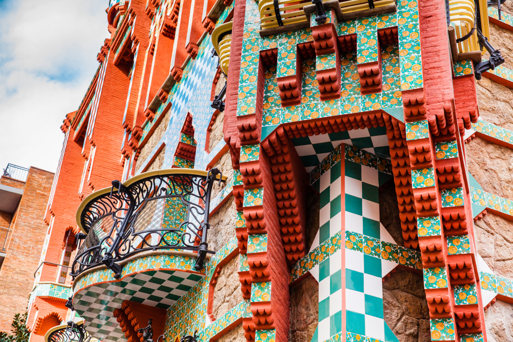 Antoni Gaudi's designed Vicens House