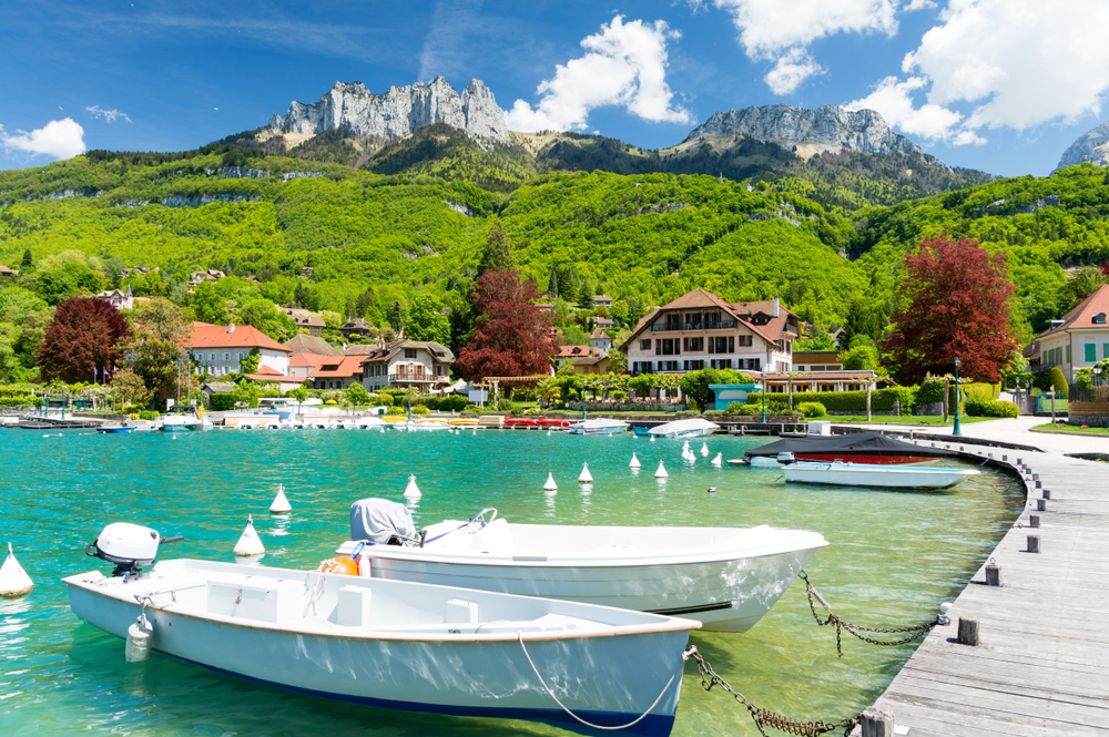 Annecy, Lake Annecy & Talloires